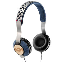 House Of Marley Liberate Headphones Denim One Size For Men 23655180001