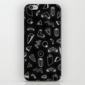 Abstract Black Pattern iPhone & iPod Skin by Malavida | Society6