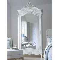 Versailles mirrored armoire