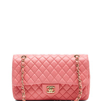 Chanel Pink Lamb Valentine Charm Bag by What Goes Around Comes Around - Moda Operandi