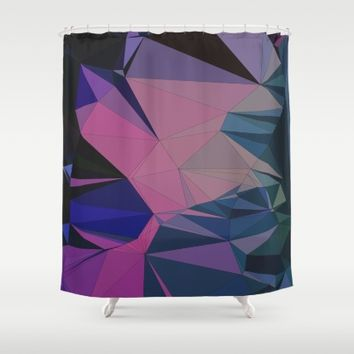 Natural Formation Shower Curtain by Ducky B