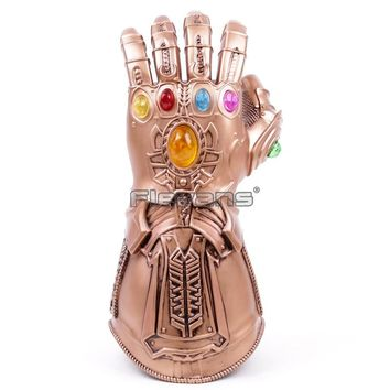 Cosplay Infinity Gauntlet Avengers Infinity War Thanos Gloves Gold Cosplay Studs Halloween Prop New