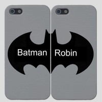 BFF Best Friend Batman & Robin Cell Phone Cases (Two Case Set)