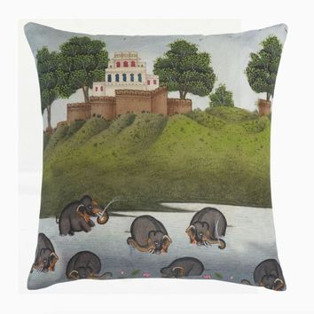 Pamoceti Decorative Pillow by John Robshaw