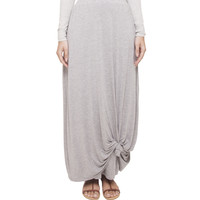 GREY KNOT SKIRT - $65.93 : Inayah, Islamic clothing & fashion, abayas, jilbabs, hijabs, jalabiyas & hijab pins