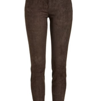 Suede Leggings - Jitrois | WOMEN | US STYLEBOP.COM