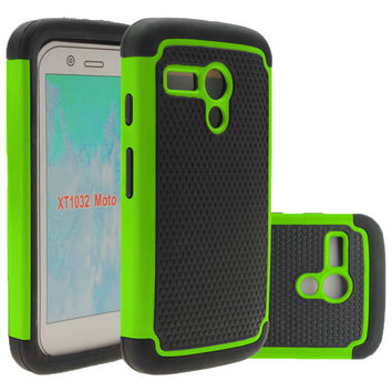 For Motorola Moto G 1st Gen Case 4.5inch Hybrid Rugged Rubber Hard Case Cover Silicone+PC For Motog XT1028 XT1031 XT1032