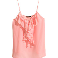 H&M - Ruffled Top