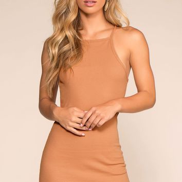 Two Please Bodycon Dress - Apricot