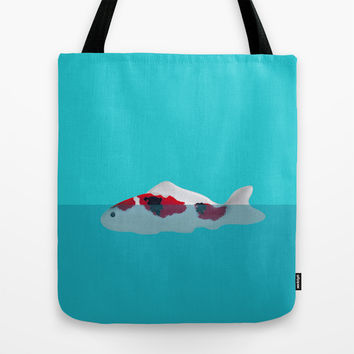 Japanese Fish Tote Bag by Shu | Formanuova
