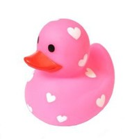 Bath Duck - Love Duck Pink