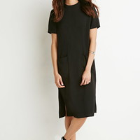 Two-Pocket Shift Dress - Dresses - Midi & Maxi - 2000157313 - Forever 21 EU English