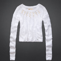 Shell Beach Embellished Sweater