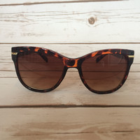 On the Horizon Sunglasses in Brown
