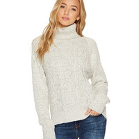 Jack by BB Dakota Alice Marled Cable-Knit Sweater