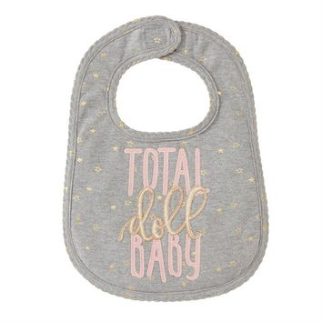 MUD PIE TOTAL DOLL BABY BIB