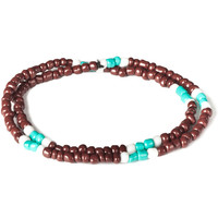 Brown Mini Bead Bracelet
