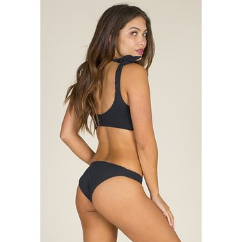 Citrine - Lily Bottom | Black Rib