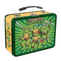 Teenage Mutant Ninja Turtles Large Tin Tote - Vandor - Teenage Mutant Ninja Turtles - Lunch Boxes at Entertainment Earth