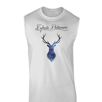 Expecto Patronum Space Stag Muscle Shirt