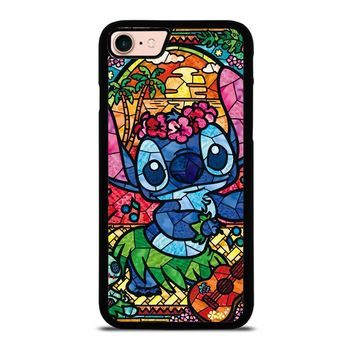 LILO & STITCH STAINED GLASS iPhone 8 Case
