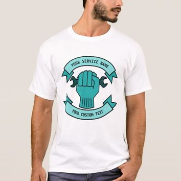 Repair Mechanic Technician Plumber Service T-Shirt