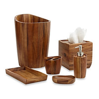 Acacia Wood Luxury Bath Accessories