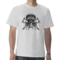 Indian Skulls Tee Shirt from Zazzle.com