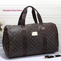 LV Women Leather Multicolor Luggage Travel Bags Tote Handbag Tagre™