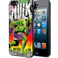 The Hulk Classic Comic Book A Samsung Galaxy S3 S4 S5 Note 3 , iPhone 4(S) 5(S) 5c 6 Plus , iPod 4 5 case