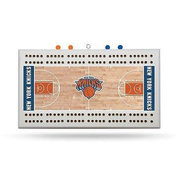 New York Knicks NBA Licensed 2 Track Cribbage Board