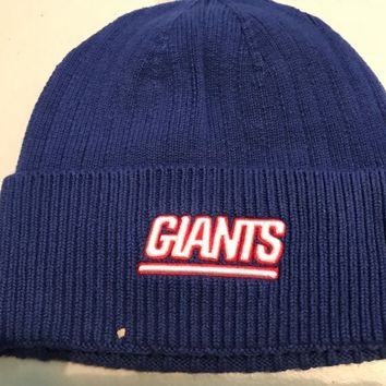 new style 677a5 fd276 NEW YORK GIANTS NFL MITCHELL AND NESS CUFF WINTER KNIT HAT SHIPP