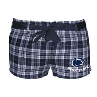 Penn State Nittany Lions Flannel Shorts
