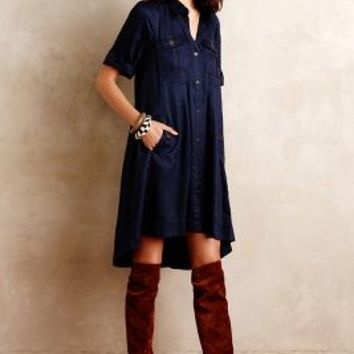 Military Swing Shirtdress