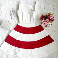 Fashion sleeveless strapless dress KMD25ES