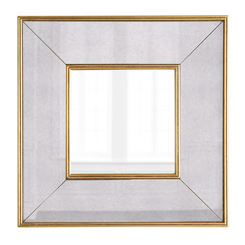Wallis Square Wall Mirror - Neiman Marcus