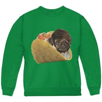 CREYCY8 Taco Pug Youth Sweatshirt