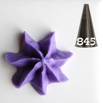 Closed Star Decorating Tip #845
