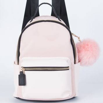 Mini Two-Tone Backpack