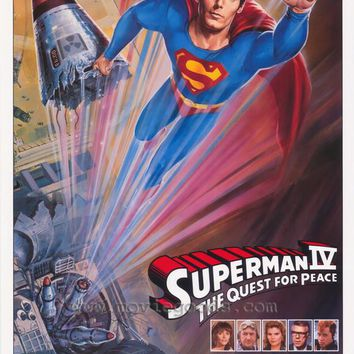 Superman 4: The Quest for Peace 27x40 Movie Poster (1987)