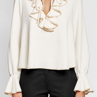 Blouse with Ruffles - See by Chloé | WOMEN | US STYLEBOP.COM