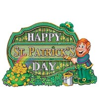 St. Patricks Day Holiday Ireland Irish Leprechaun Beer  Fridge Magnet  #39