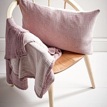 Cotton Cushion - Blush - Indoor Living