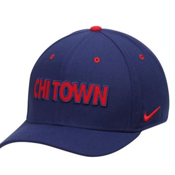 Chicago Cubs Verbiage Flex Fit Hat By Nike