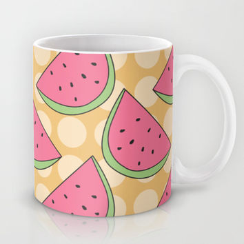 Watermelon Pattern Mug by Pati Designs