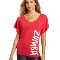 Zumba Fitness LLC Women's Flaunt It Fancy Top