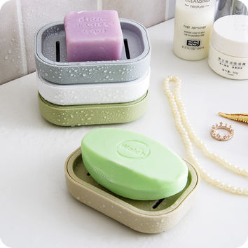 Creative Fashion Two Layer Draining Soap Dish