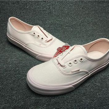 Vans Authentic DX Old Skool Mono canvas Pack VN0A2Z51KZH white pink