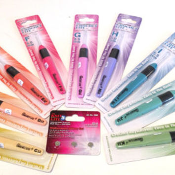 Crochet Lite Hook Complete Set Sizes C Through K Light Up Crochet Hooks