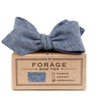 forage — harbor denim {bow tie}